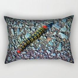 Azalea Caterpillar Rectangular Pillow
