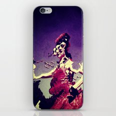 Distorted reality iPhone & iPod Skin
