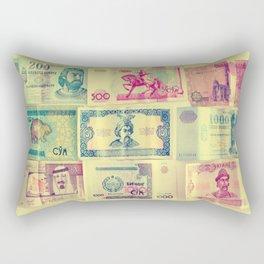 money money money must be funny Rectangular Pillow