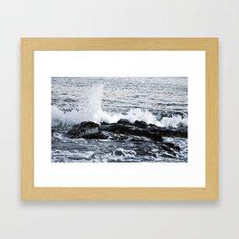 Six Days On The Coast Of The Ocean Framed Art Print