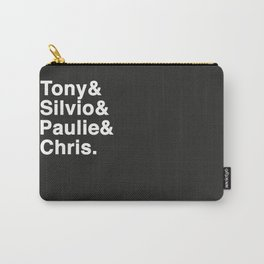 Tony & Silvio & Paulie & Chris. Carry-All Pouch