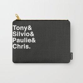 Tony & Silvio & Paulie & Chris. Carry-All Pouch