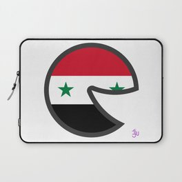 Syria Smile Laptop Sleeve
