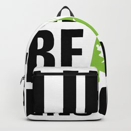 Kite surfing quote Backpack
