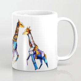 Giraffe Building Coffee Mug