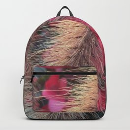 Grass and Geraniums Backpack