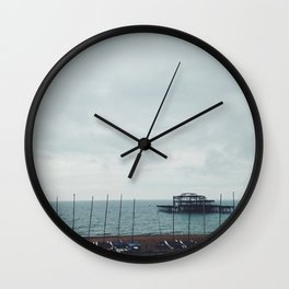 Brighton Old Pier Wall Clock