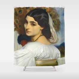 "Frederic Leighton ""Pavonia"" Shower Curtain"