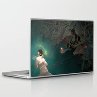 hannibal Laptop & iPad Skins featuring Hannibal by Stephanie Kao