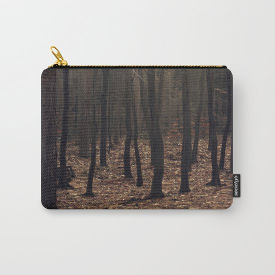 Winter magic forest Carry-All Pouch