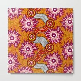 Aboriginal Art Authentic – Journey 2 Metal Print