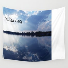 Indian Lake Wall Tapestry
