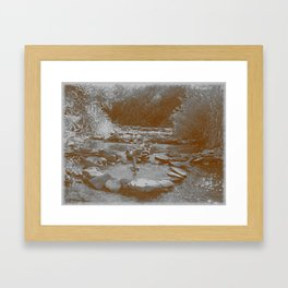 Cascade of Epiphany Framed Art Print