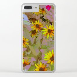 Coyote Camouflage Clear iPhone Case