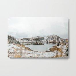 Rock Isle Lake II Metal Print