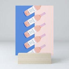 Rosé All Day Mini Art Print