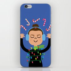 Holiday with Candy iPhone & iPod Skin