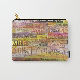 Quilted Conversations Carry-All Pouch