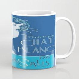 Le Chat Blanc Coffee Mug
