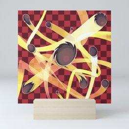 Chaos Dash Mini Art Print