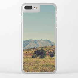 Vintage Africa 10 Clear iPhone Case
