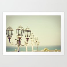 Sea Lamps Art Print