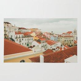 Portugal Lisboa Cityscape photography Rug