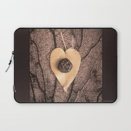 Heart Leaf Laptop Sleeve