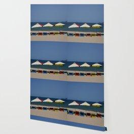 Beach Umbrellas in Nha Trang Wallpaper