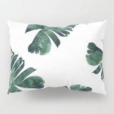 Banana Leaf Watercolor #society6 #buy #decor Pillow Sham