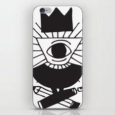 mighty eye card iPhone & iPod Skin