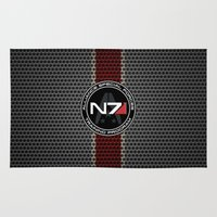 n7 Area & Throw Rugs featuring N7 by aleha