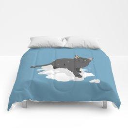 Winter Cat Comforters