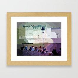 Ile St Louis Framed Art Print