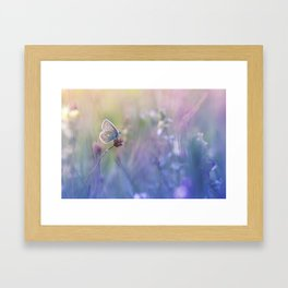 I keep an eye on everything... Framed Art Print