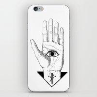 hamsa iPhone & iPod Skins featuring Hamsa by KPapparel