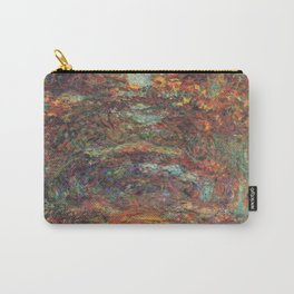 Claude Monet's The Rose Walk, Giverny Carry-All Pouch