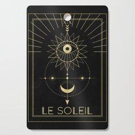 Le Soleil or The Sun Tarot Cutting Board