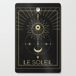 Le Soleil or The Sun Tarot Cutting Board