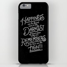 Happiness can be found Slim Case iPhone 6 Plus