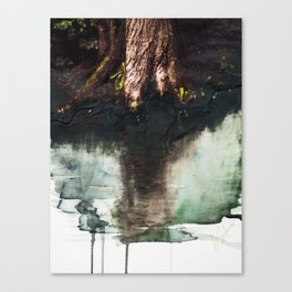 Water & Photo Series 02 Canvas Print