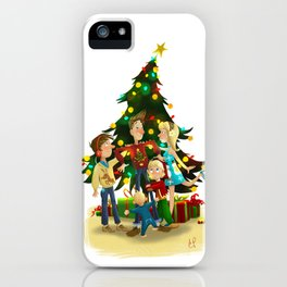Family Christmas iPhone Case