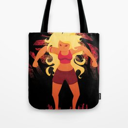 Red Giant Tote Bag