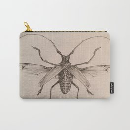 Flying Beetle Carry-All Pouch