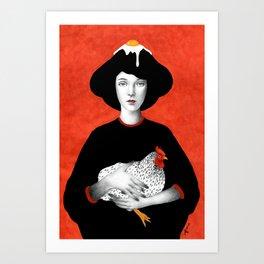 Ofelia Art Print