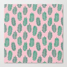 Pattern Project #42 / Ferns Canvas Print