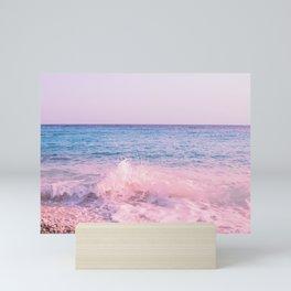 Caribbean Ocean Waves Dream #3 #wall #decor #art #society6 Mini Art Print