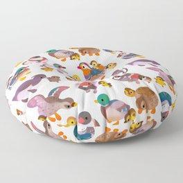 Duck and Duckling Floor Pillow