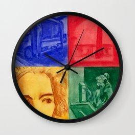 Quiet Life Wall Clock