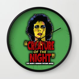 RHPS - Creature of the night Wall Clock